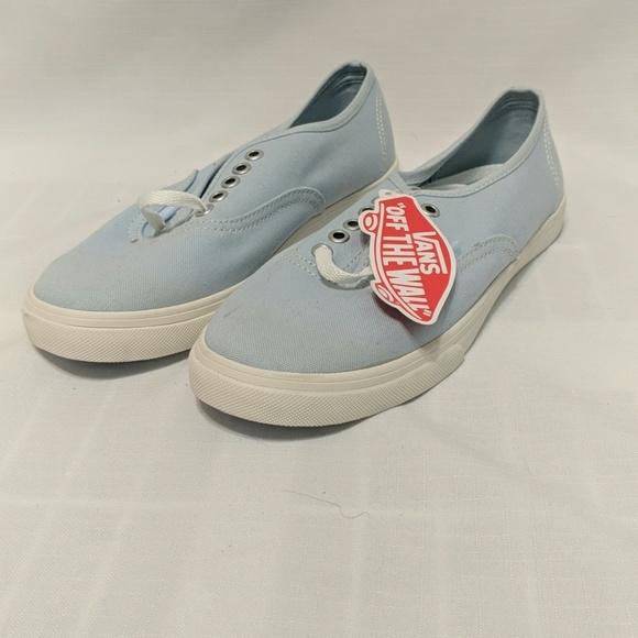 f775ab095bbbfa Pastel Light Blue Vans sz 6
